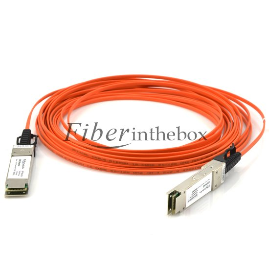 Fiberinthebox QSFP+ Active Optical Cables